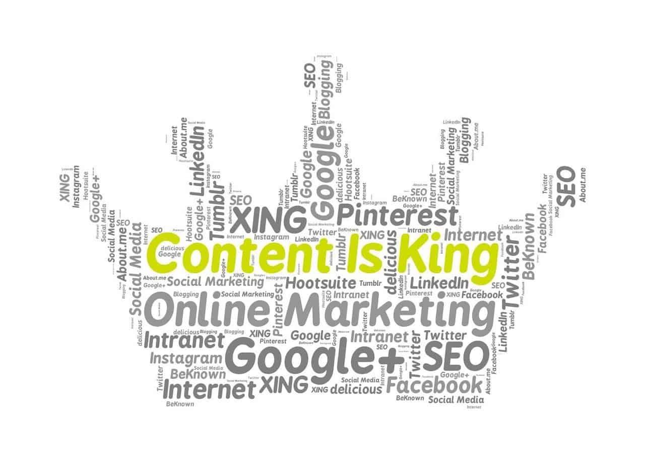 Content=King. Waarom content zo belangrijk is voor je website