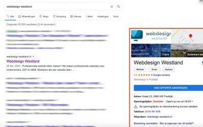 Claim jouw Google Mijn Bedrijf-vermelding